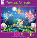 Fairies with Dancing Frogs Jigsaw Puzzle Box