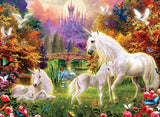 Unicorns - The Castle Unicorns - 100 Piece Puzzle
