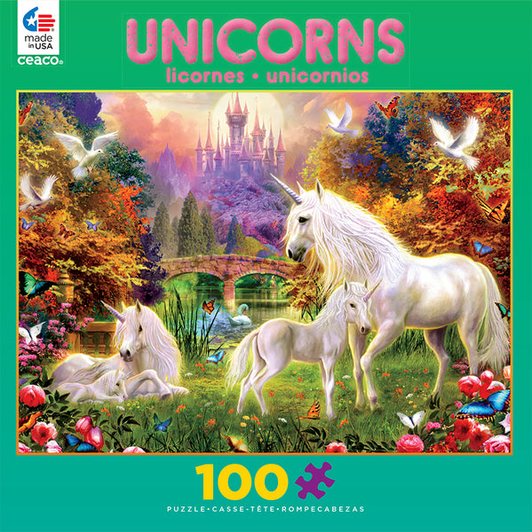 The Castle Unicorns Jigsaw Puzzle Box