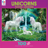 Rainbow Unicorn Family Jigsaw Puzzle Box