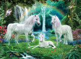 Unicorns - Rainbow Unicorn Family - 100 Piece Puzzle