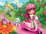 Strawberry Shortcake  - on her Vespa - 60 Piece Puzzle