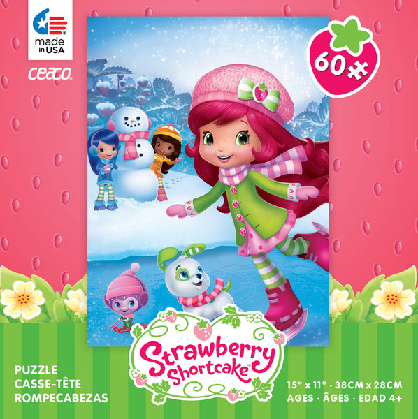 Strawberry Shortcake Ice Skating Jigsaw Puzzle Box