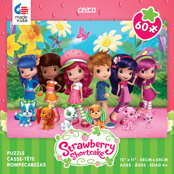 Strawberry Shortcake Friends and Pets Jigsaw Puzzle Box