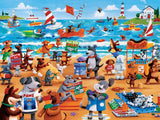 Paws & Claws - Dogs Beach - 300 Piece Puzzle