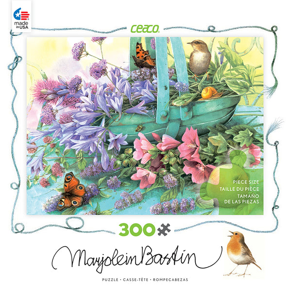 Summer Blooms Jigsaw Puzzle Box