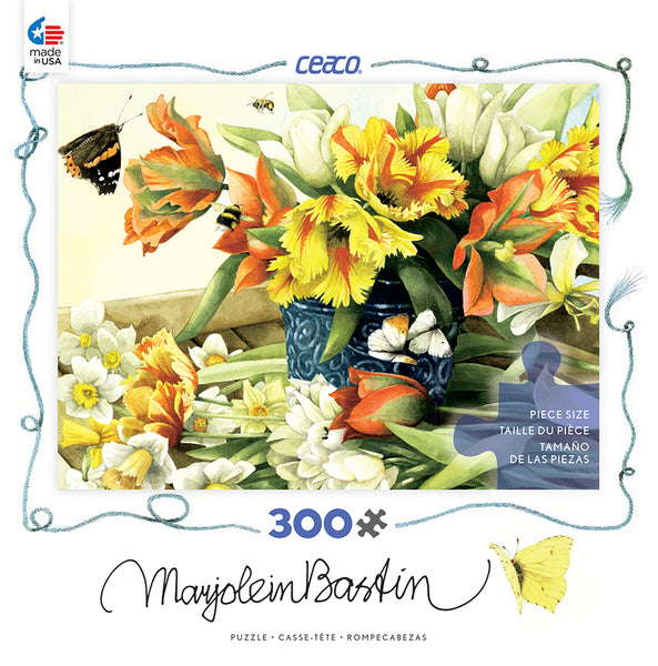 Spring Tulips Jigsaw Puzzle Box