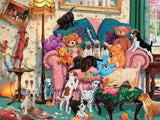 Paws Gone Wild - Grandma's Armchair - 550 Piece Puzzle