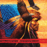 Native American Sunset - Tapestry - 550 Piece Puzzle