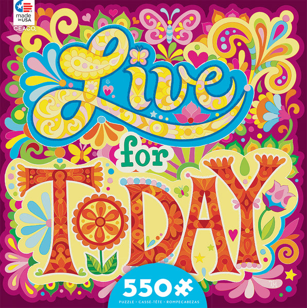 Live For Today Jigsaw Puzzle Box