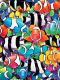 Colors - Clown Fish - 550 Piece Puzzle
