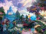 Thomas Kinkade Disney - Cinderella Wishes Upon a Dream - 750 Piece Puzzle