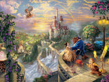 Thomas Kinkade Disney - Beauty and the Beast Falling in Love - 750 Piece Puzzle