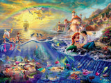 Thomas Kinkade Disney - The Little Mermaid - 750 Piece Puzzle