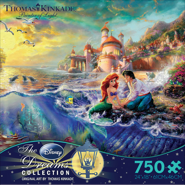 The Little Mermaid Jigsaw Puzzle Box