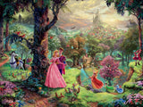 Thomas Kinkade Disney - Sleeping Beauty - 750 Piece Puzzle