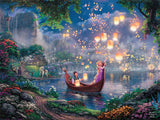 Thomas Kinkade Disney - Tangled - 750 Piece Puzzle