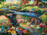 Thomas Kinkade Disney - Alice in Wonderland - 750 Piece Puzzle
