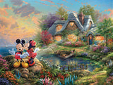 Thomas Kinkade Disney - Mickey and Minnie - 750 Piece Puzzle