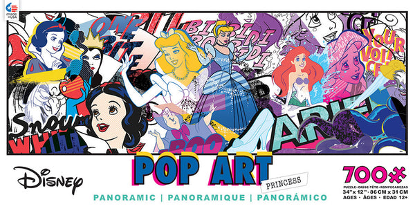 Pop Art Princess Jigsaw Puzzle Box