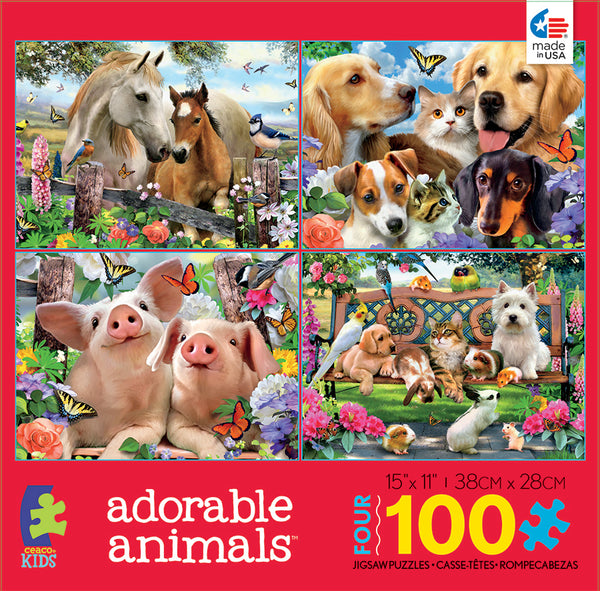 Adorable Animals Jigsaw Puzzle Box