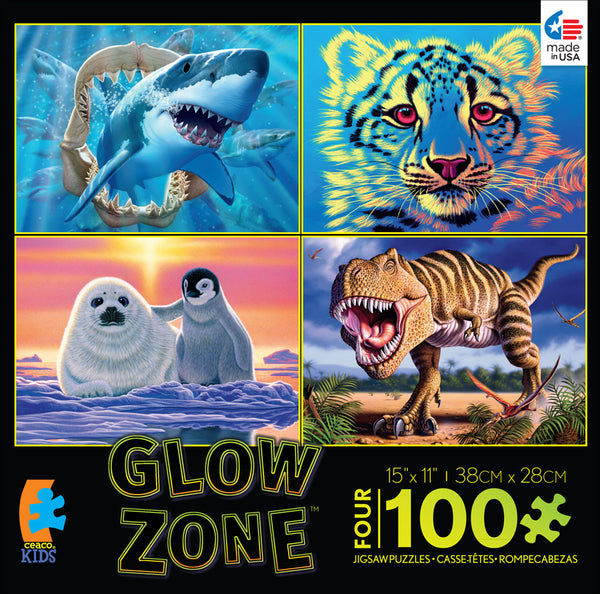 Glow Zone Jigsaw Puzzle Box