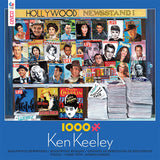 Hollywood Newsstand Jigsaw Puzzle Box