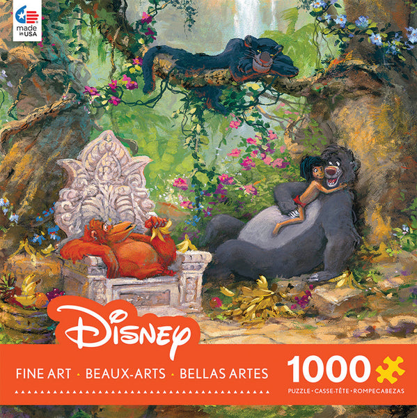 Jungle Book Jigsaw Puzzle Box