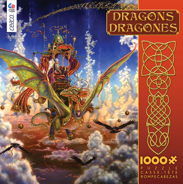 Dragonflight Jigsaw Puzzle Box