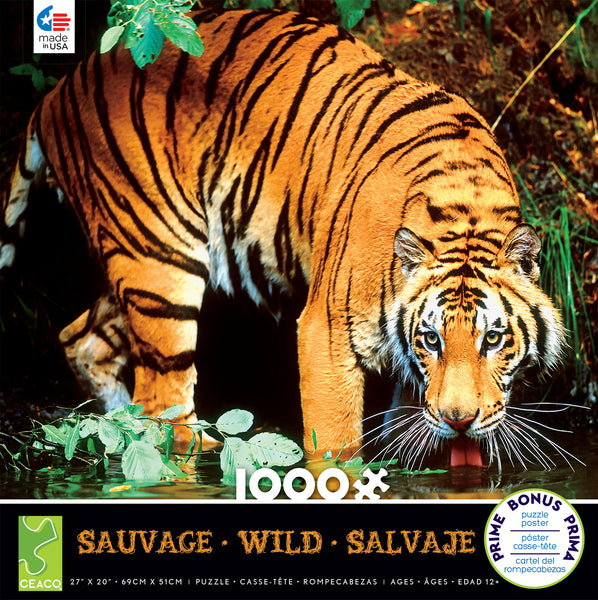 Bengal Tiger Jigsaw Puzzle Box