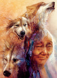 Native Spirit - Medicine Woman - 1000 Piece Puzzle
