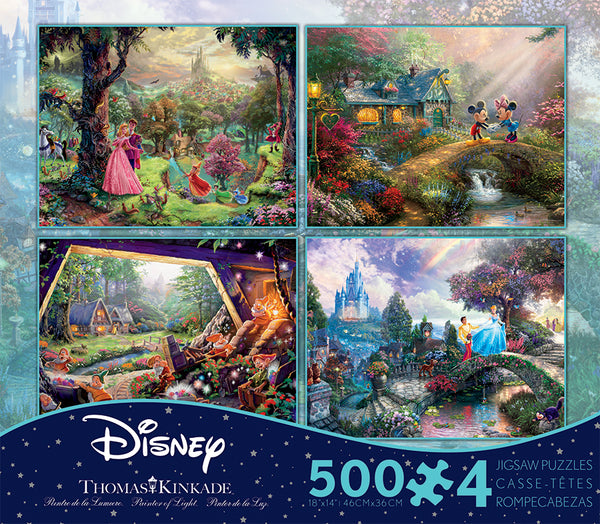 Thomas Kinkade Disney Jigsaw Puzzle Box