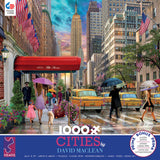 David Maclean Cities - New York - 1000 Piece Puzzle