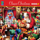 Classic Christmas - Santa's Workshop - 1000 Piece Puzzle