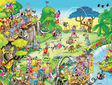 Comic Capers - Golf Safari - 300 Piece Puzzle