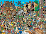 Comic Crowds - Ol' West - 750 Piece Puzzle