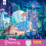 Disney Friends - Cinderella's Carriage - 200 Piece Puzzle