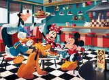 Disney Friends - Disney Diner - 200 Piece Puzzle