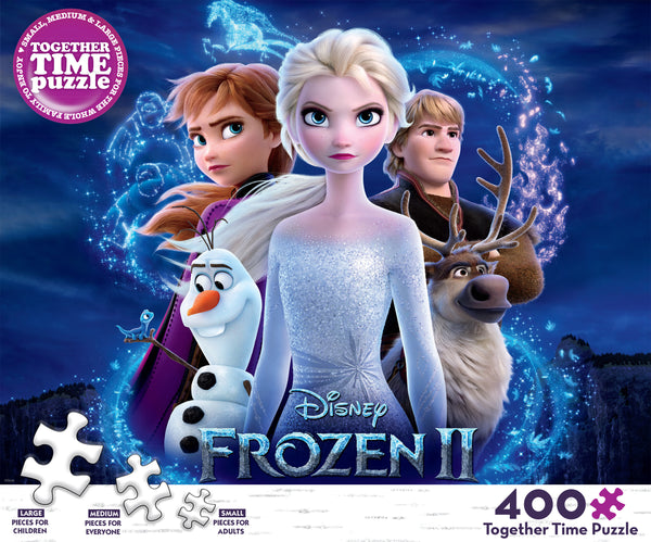 Together Time - Frozen - 400 Piece Puzzle