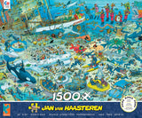 Jan Van Haasteren - Undersea Fun - 1500 Piece Puzzle