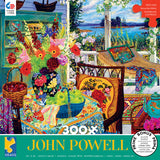 John Powell- Turquoise Tea and Harvest Apples - 300 Piece Puzzle