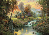 Thomas Kinkade - Mountain Retreat - 1000 Piece Puzzle