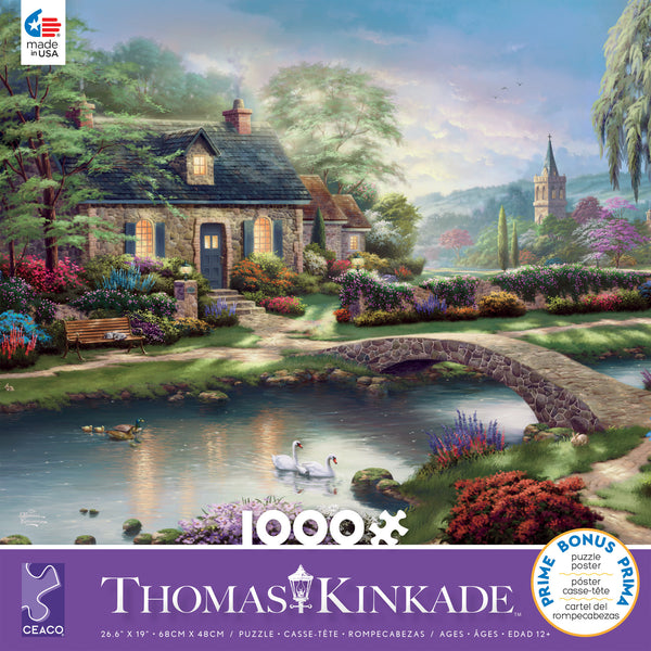 Thomas Kinkade - Stony Creek - 1000 Piece Puzzle