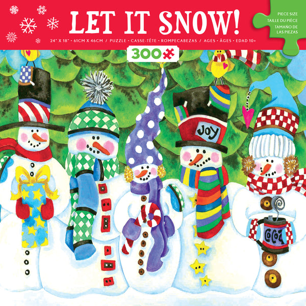 Let It Snow - Jolly - 300 Piece Puzzle