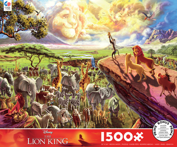 Disney Lion King - 1500 Piece Puzzle