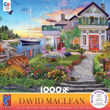 David Maclean - Coastal Escape - 1000 Piece Puzzle