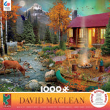 David Maclean - Aurora Lights - 1000 Piece Puzzle