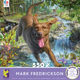 Mark Fredrickson - Chocolate Lab 2 - 550 Piece Puzzle