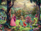 Thomas Kinkade Disney Princess - Sleeping Beauty - 300 Oversized Piece Puzzle