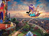 Thomas Kinkade Disney Princess - Aladdin - 300 Oversized Piece Puzzle